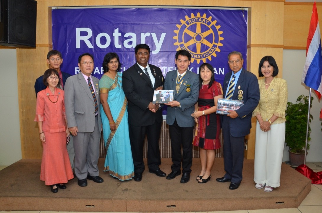 Installation of Rotarian Gopal as the 64th President